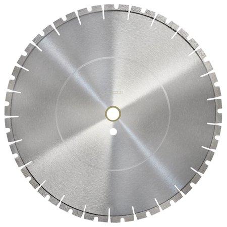 14' Premium Concrete - 14'' x125'' x 1''-20mm Premium Masonry Diamond Blade Notched Segment Concrete