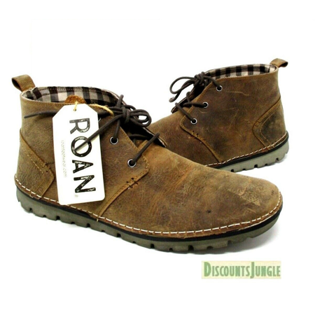 ROAN by Bed Stu Greenland Brown Mens Boots Chukka Vintage Leather Shoes