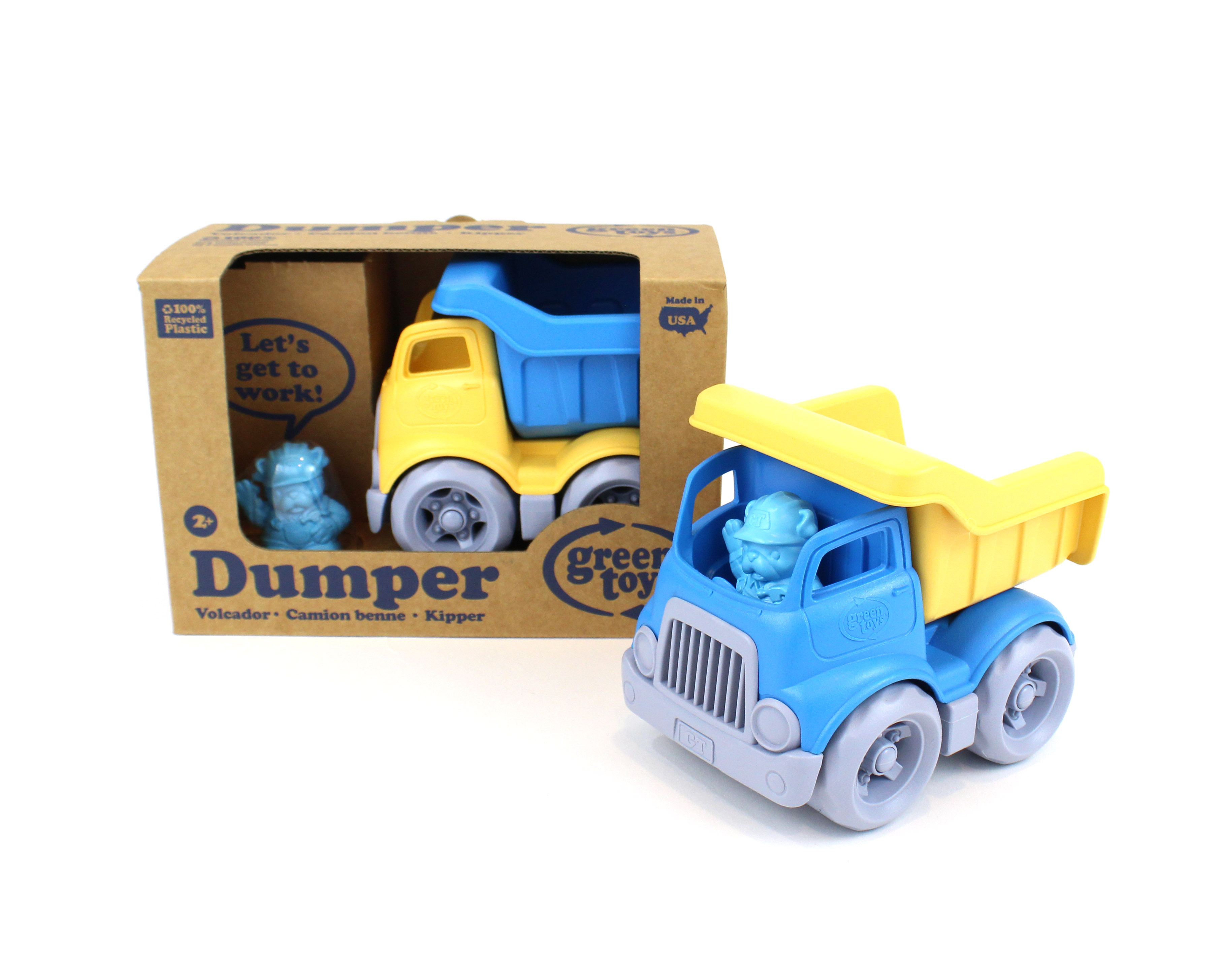 Green Toys Construction Mixer 100/% Recycled BPA free