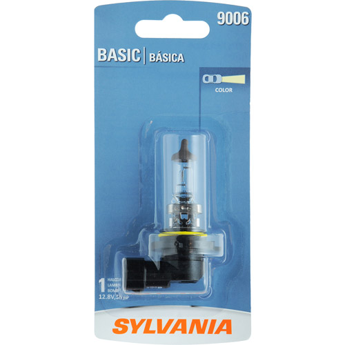 Sylvania 9006 Basic Headlight, Contains 1 Bulb
