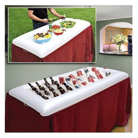 Inflatable Serving Drink Cooler Ice Salad Bar for Outdoor Pinic Party