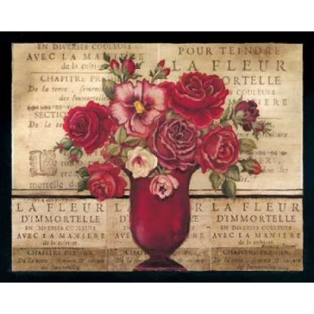 Paris Rose Ii Poster Print By Kimberly Poloson