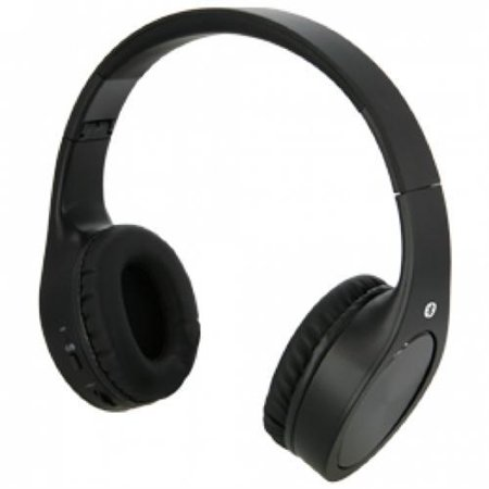 ilive blue iahb74b bluetooth on ear headphones with mic. Black Bedroom Furniture Sets. Home Design Ideas
