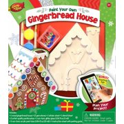 Works of Ahhh Gingerbread House Holiday Wood Paint Kit, 1 Each