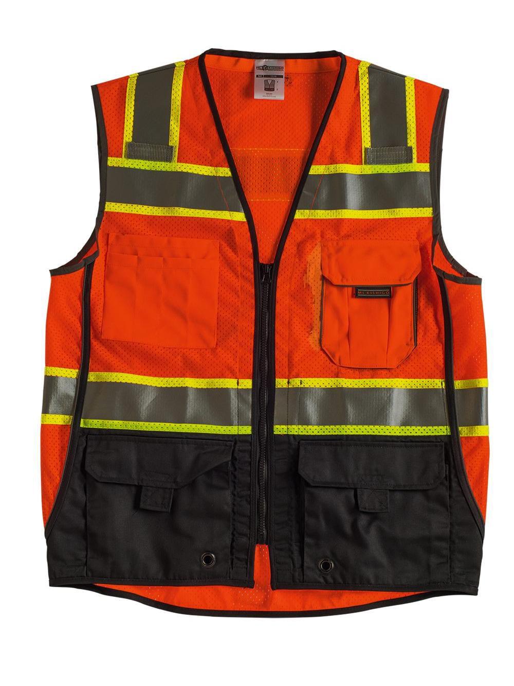 ML Kishigo Workwear Class 2 Black Series Vest