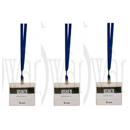 Swanson Christian Supply 172990 Name Badge Lanyard Combo with Clear Sleeve, Royal Blue - Pack of (Royal Artillery Badge)