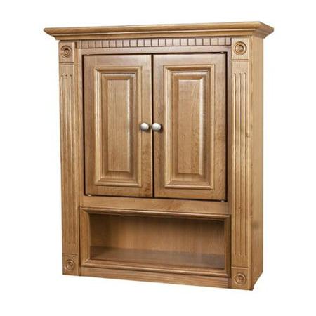 Ghi 2 Door Oak Bathroom Wall Cabinet Walmart