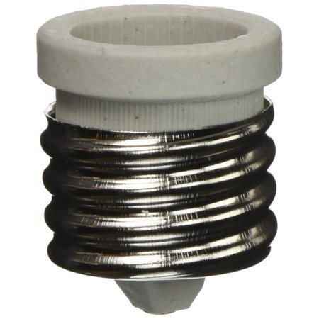 Light Bulb Adapter for Antique Floor Lamp Mogul Socket [Misc.], PORCELAIN MOGUL (E39) TO MED (E26) ADAPTOR By - E39 Lamp