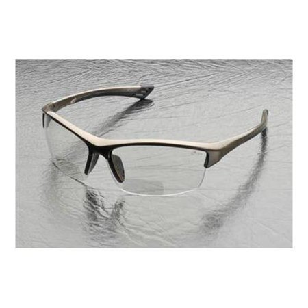 RX-350C Sonoma Clear Polycarbonate BiFocal Safety / Fashion Glasses with +3.0 Diopters, Brown Frame by, RX-350 is available in clear and gray lens versions and.., By (Best Way To Clean Polycarbonate Lenses)