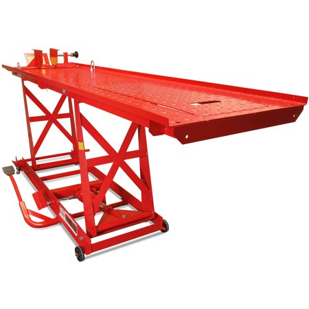Titan Ramps 1,000 lb Hydraulic Motorcycle Lift Table Extra Long Heavy (Direct Lift Motorcycle Lifts)