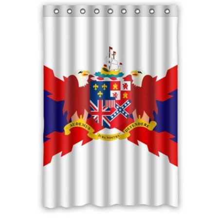 48 X 72 Alabama State Flag Shower Curtain With