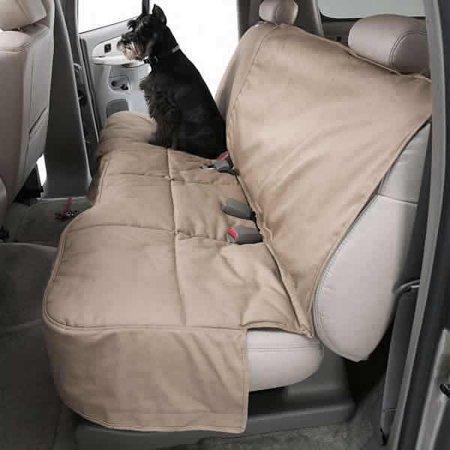 Custom Rear Seat Protector: 2008 SCION XB (Polycotton, Taupe) (DCC4404TP) ()