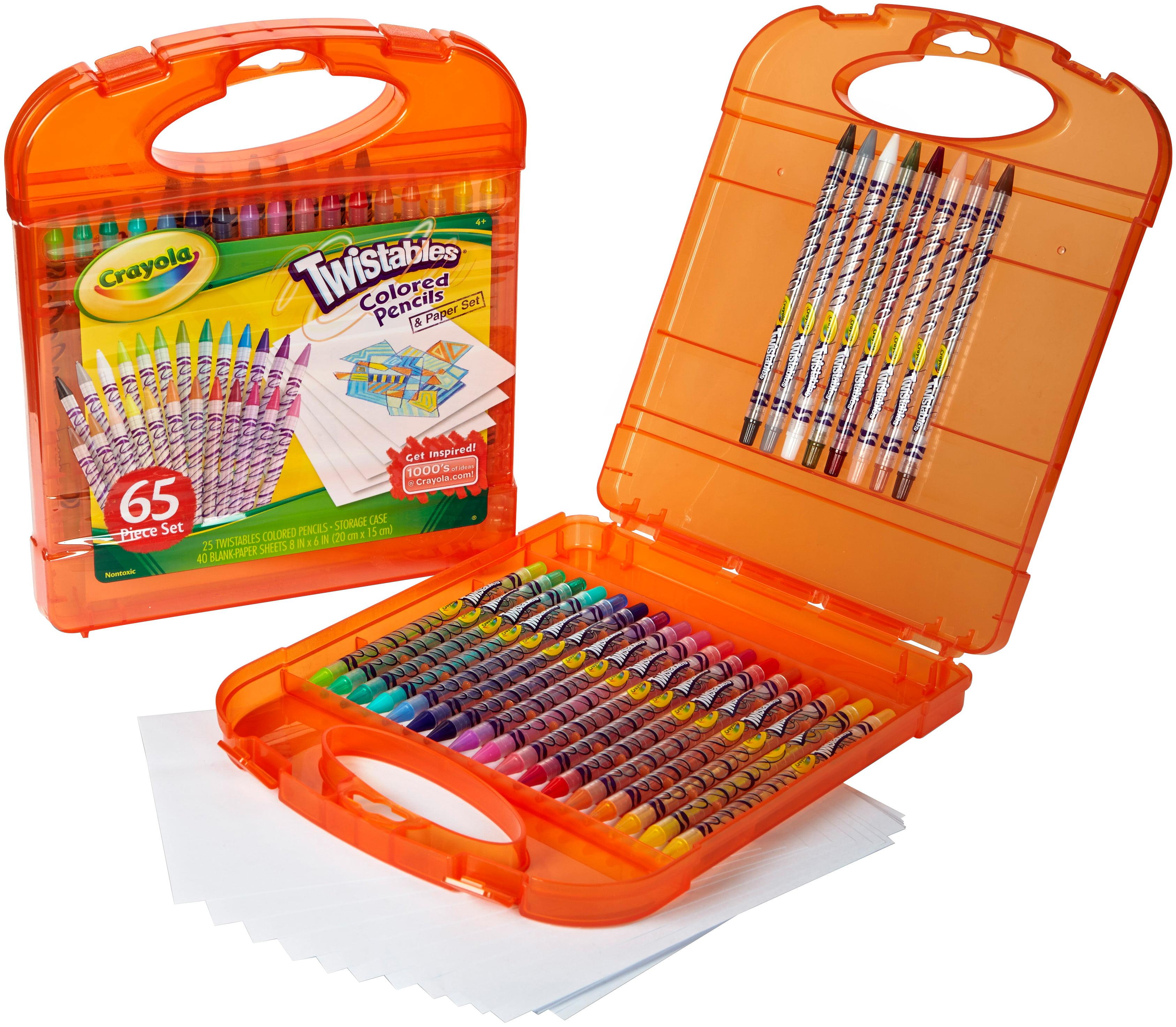 Crayola 65 Piece Twistables Colored Pencil Kit by Crayola
