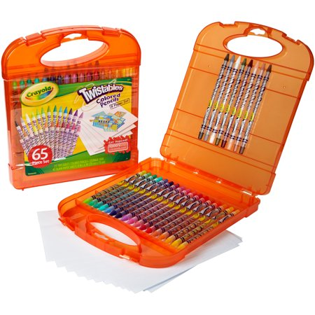 Crayola Twistables Colored Pencil Kit with 65 - Crayola Twistable Colored Pencils