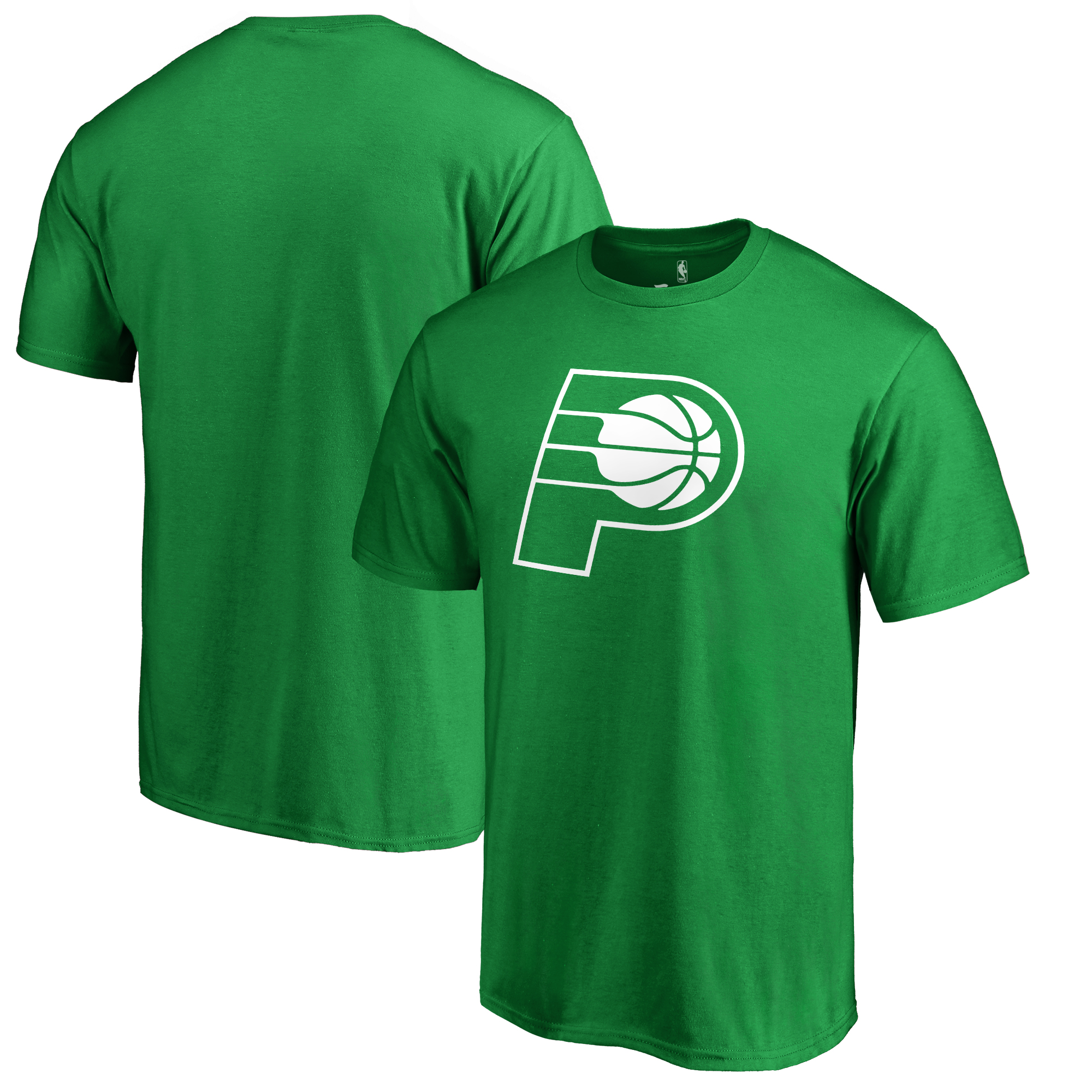 Indiana Pacers Fanatics Branded Big & Tall St. Patrick's Day White Logo T-Shirt - Green