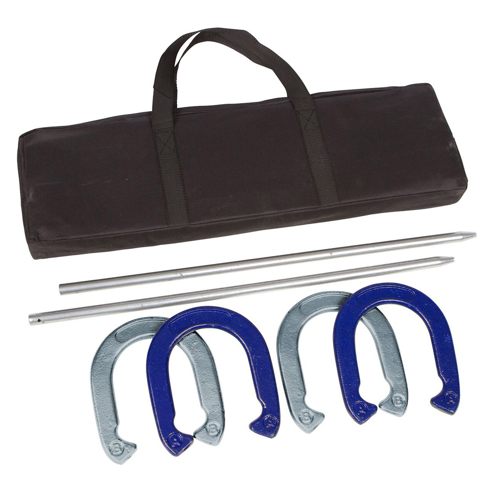 Tailgate360 Professional Horseshoe Set, Powder Coated and Waterproof Steel