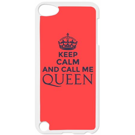 Keep Calm and Call Me Queen Hard White Plastic Case Compatible with the Apple iPod Touch 5th Generation - iTouch 5 Universal](find me the cheapest ipod touch)