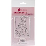 """Woodware Clear Stamps, 5.5"""" x 3.5"""" Sheet, Treemendous Dots"""