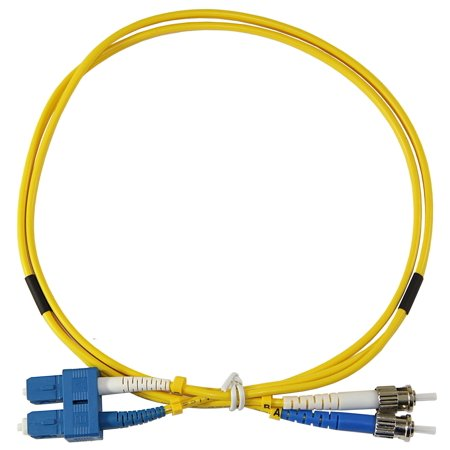 Duplex Single Mode Patch - 1m ST-SC Duplex 8.3/125um single mode patch cord, UPC polish