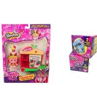 Shopkins Wild Style Season 9 Shoppets Theme Pack: Melody Hops + Hoppy Juice Cart and 2 Pack Pet- Pod Blind Box Bundle