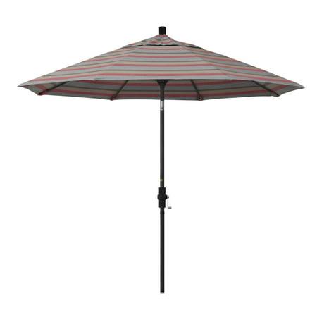Image of California Umbrella 9 ft. Pacifica Aluminum Single Vent Tilt Market Umbrella