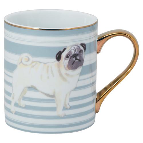 TenStrawberryStreet Pug Handel Coffee Mug
