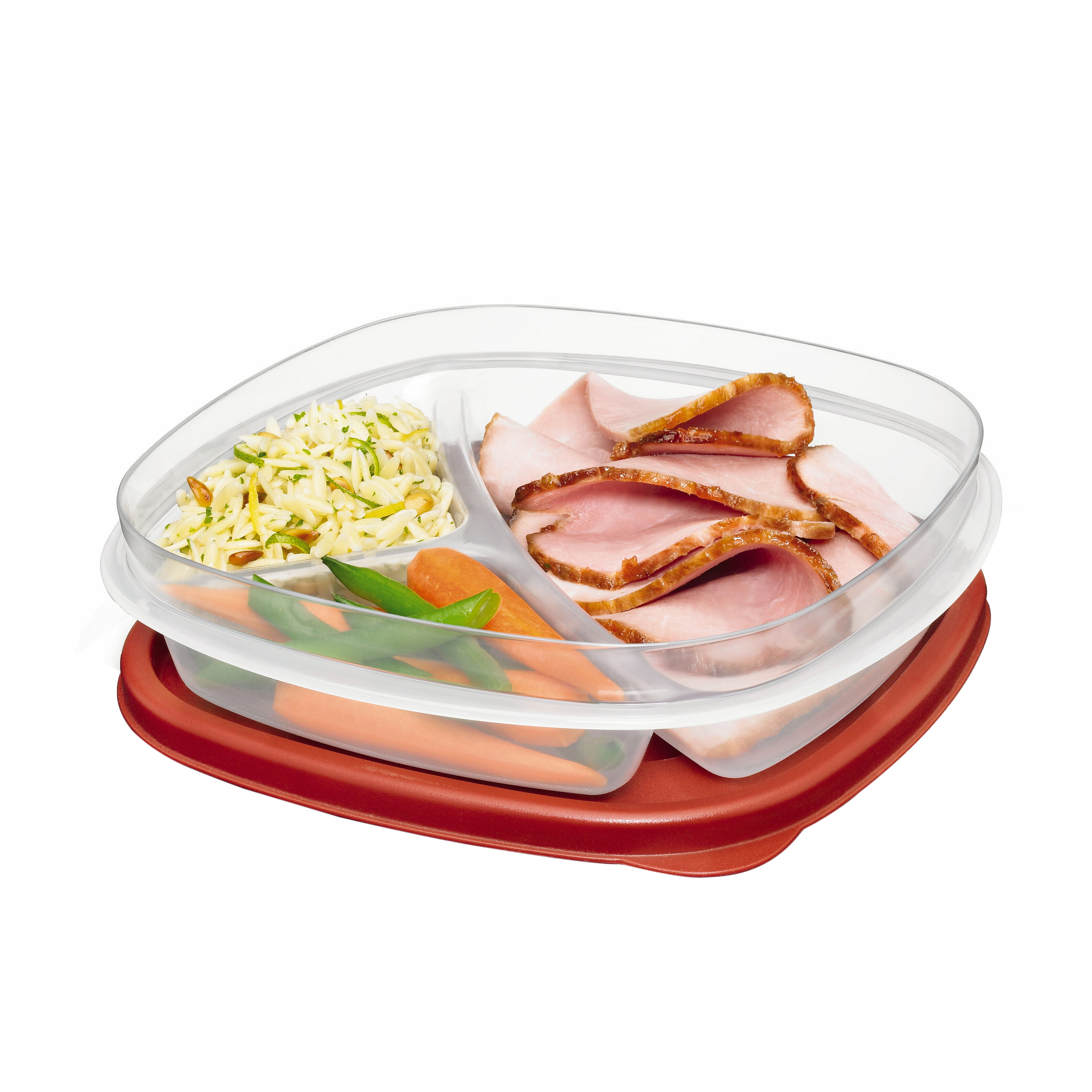 Rubbermaid Easy Find Lids Food Storage Container, 4.8 Cup