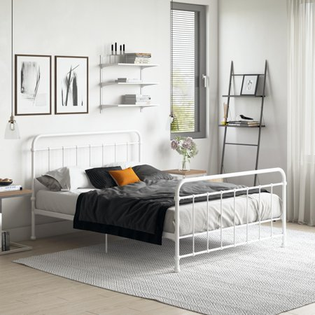 DHP Brooklyn Iron Platform Bed, Multiple Sizes and Colors