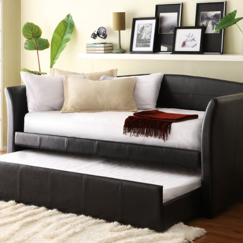 Lexington Daybed - Brown Vinyl