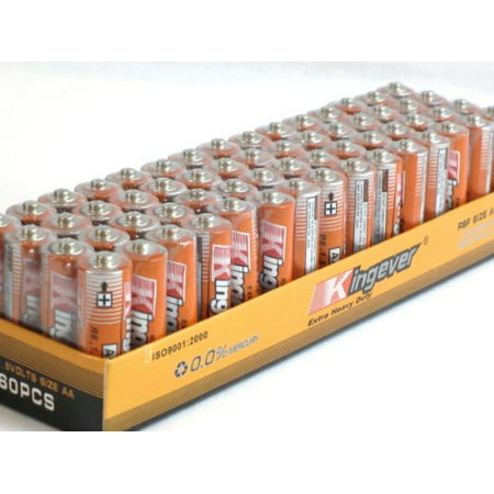 Aa Service Kit - 60 Pack AA Batteries Extra Heavy Duty 1.5v. 60 Pack wholesale Lot.