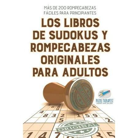 Decoraciones De Halloween Para Adultos (Los libros de sudokus y rompecabezas originales para adultos | Más de 200 rompecabezas fáciles para principiantes (Spanish)