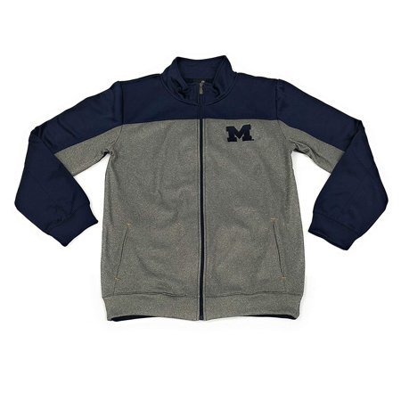 f80099bbb726e Outerstuff Michigan Wolverines Men's Full Zip Track Jacket Clothing Apparel