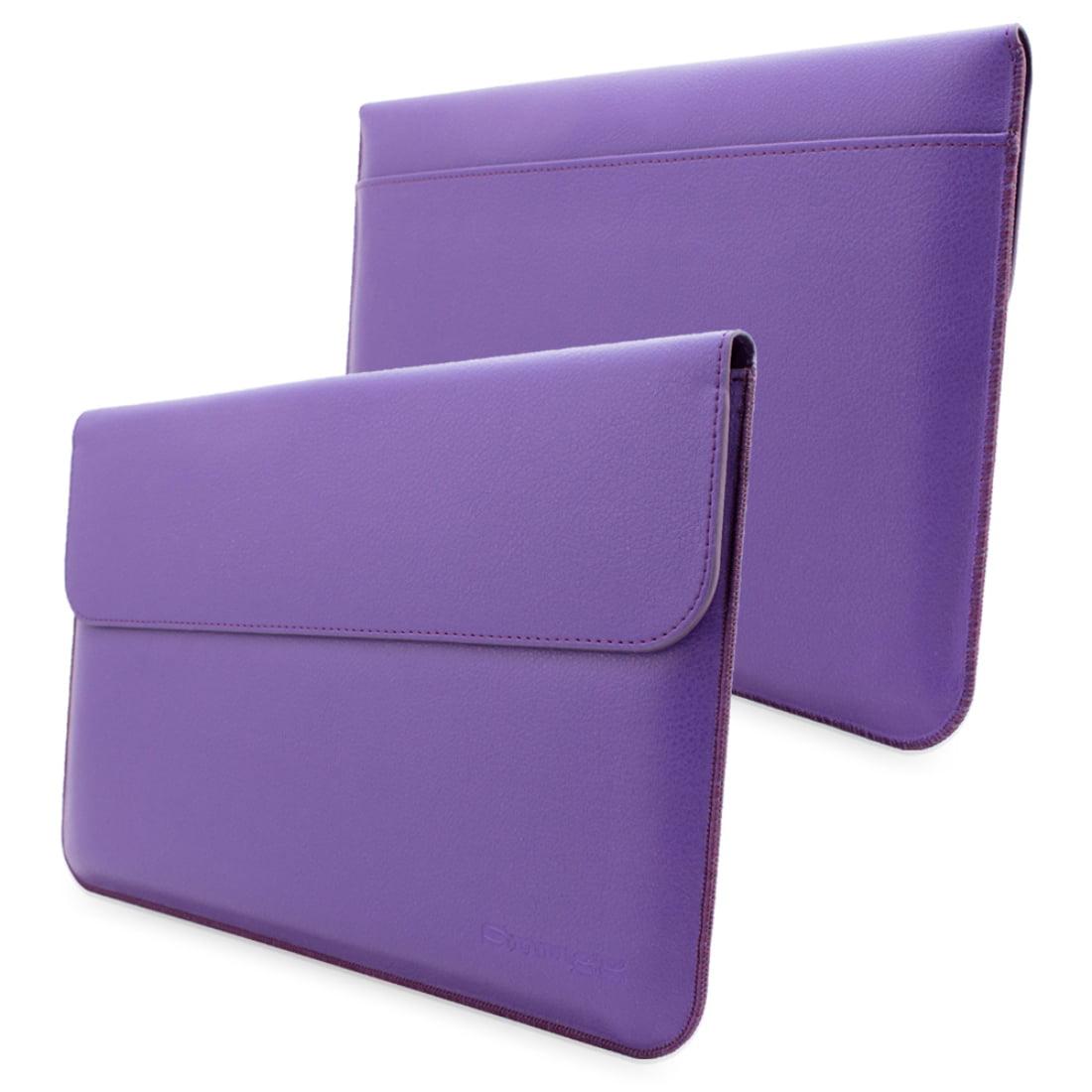 Snugg Purple Leather Microsoft Surface 2 Sleeve Case