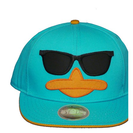 Perry The Platypus Phineas And Ferb Adult Adjustable Flat Bill Baseball Hat Cap