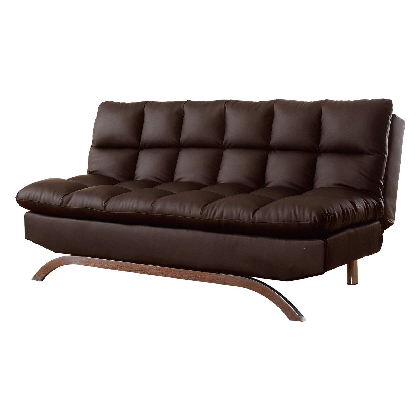 Milton Green Lugo Plush Futon Sofa Bed