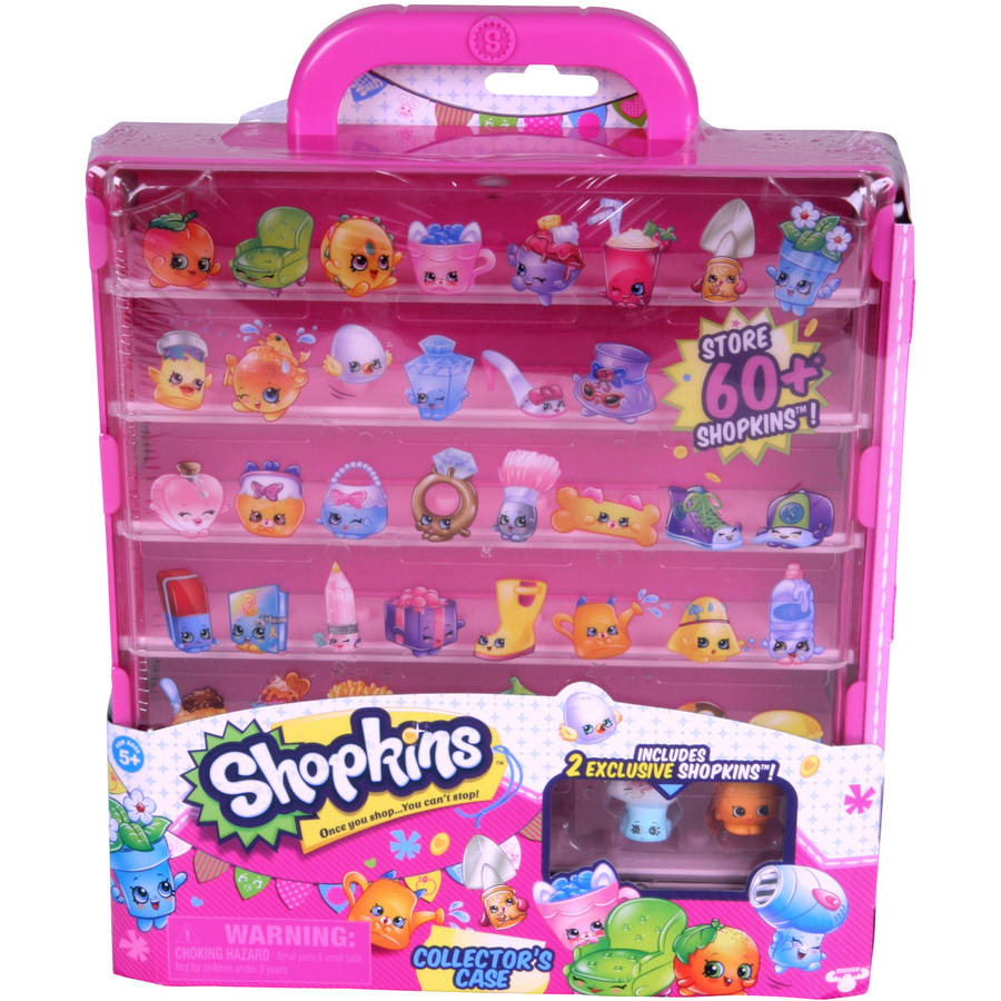 Moose Toys Shopkins Collectors Case
