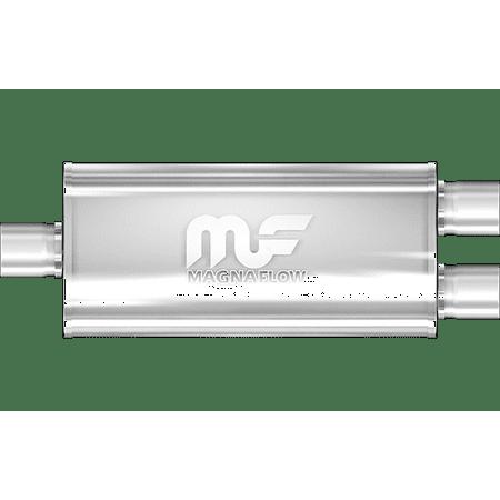 MagnaFlow Muffler Mag SS 18X5X8 3X2.25/2.25 C