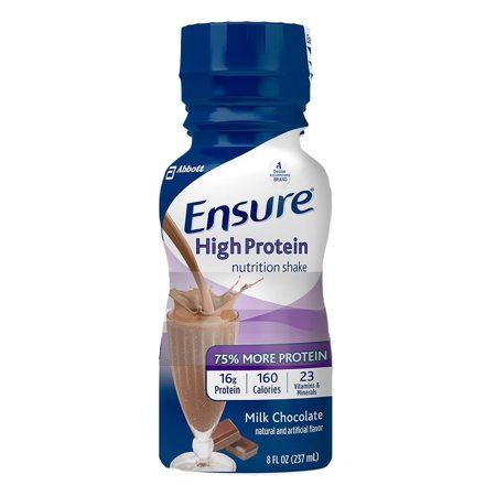 Ensure High Protein Therapeutic Nutrition  Chocolate  8 Oz Bottles   Pack Of 6