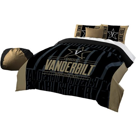 NCAA Vanderbilt Commodores u0022Modern Takeu0022 Bedding Comforter Set