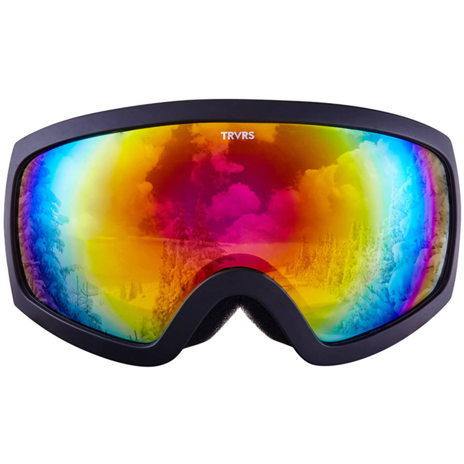 Traverse Varia Ski, Snowboard, and Snowmobile Goggles, Obsidian with ...