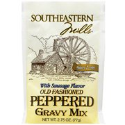 Southeastern Mills Old Fashioned Peppered Gravy Mix, 2.75 oz (Pack of 24)