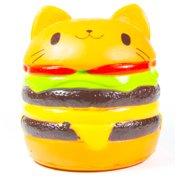 Jumbo Squishy Cartoon Yummy Cat Hamburger