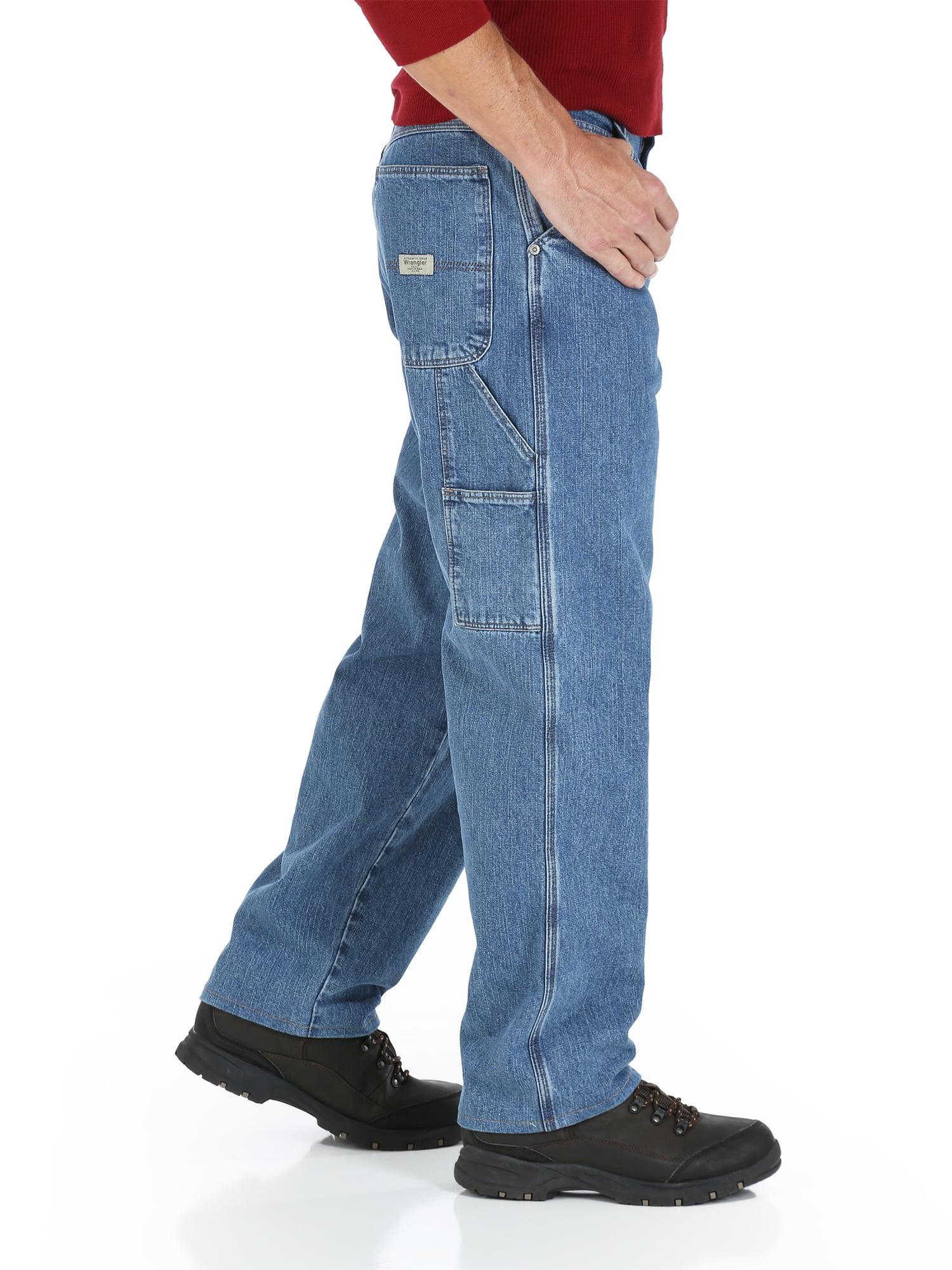 d50863d1 Wrangler - Big Men's Carpenter Fit Jeans - Walmart.com
