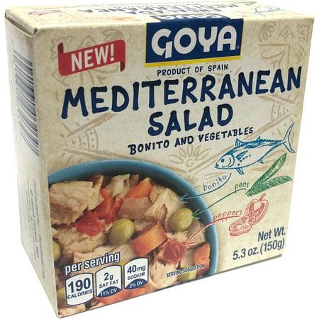 Mediterranean Tuna Salad 5.5 oz by Goya (Pack of
