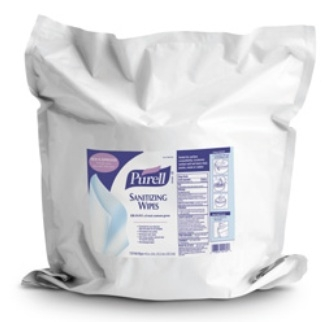 GOJO Purell Sanitizing Skin Wipe - 9118-02CS - 2 Pack / Case