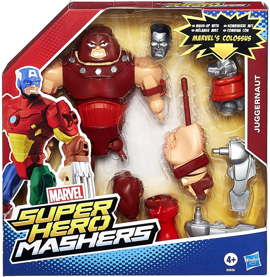 Marvel Super Hero Mashers Battle Upgrade Juggernaut Action Figure B0695AS00
