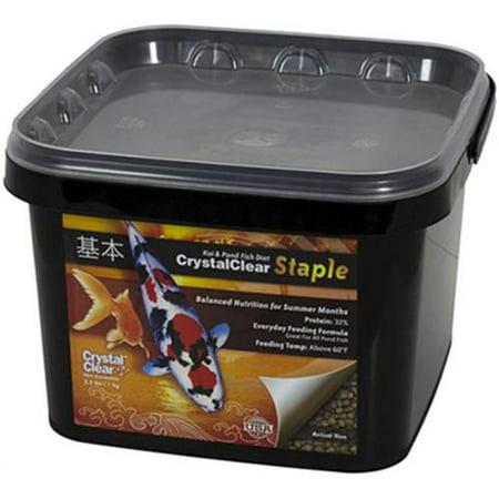 CrystalClear Koi Food, Staple, Std Pellet, 2.2 lb