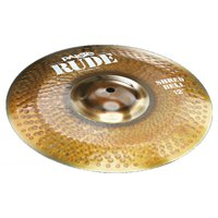 Paiste 1125312 12 Inch Rude Series Shred Bell Cymbal W/ Separated Bell Character
