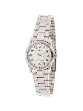 Women's LTPV001D-7B Silver Metal Quartz Fashion Watch
