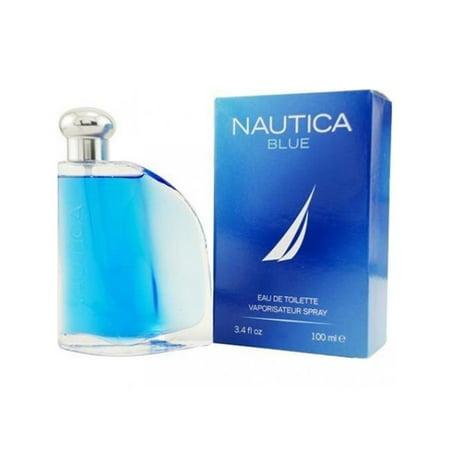 Nautica MNAUTICABLUE3.4COL 3.4 oz Nautica Blue Cologne